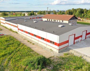 Lisako OÜ tootmishoonete ehitus Vinni alevikus